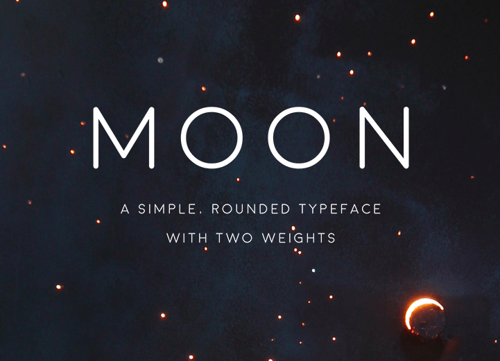 Moon Free Font on Behance