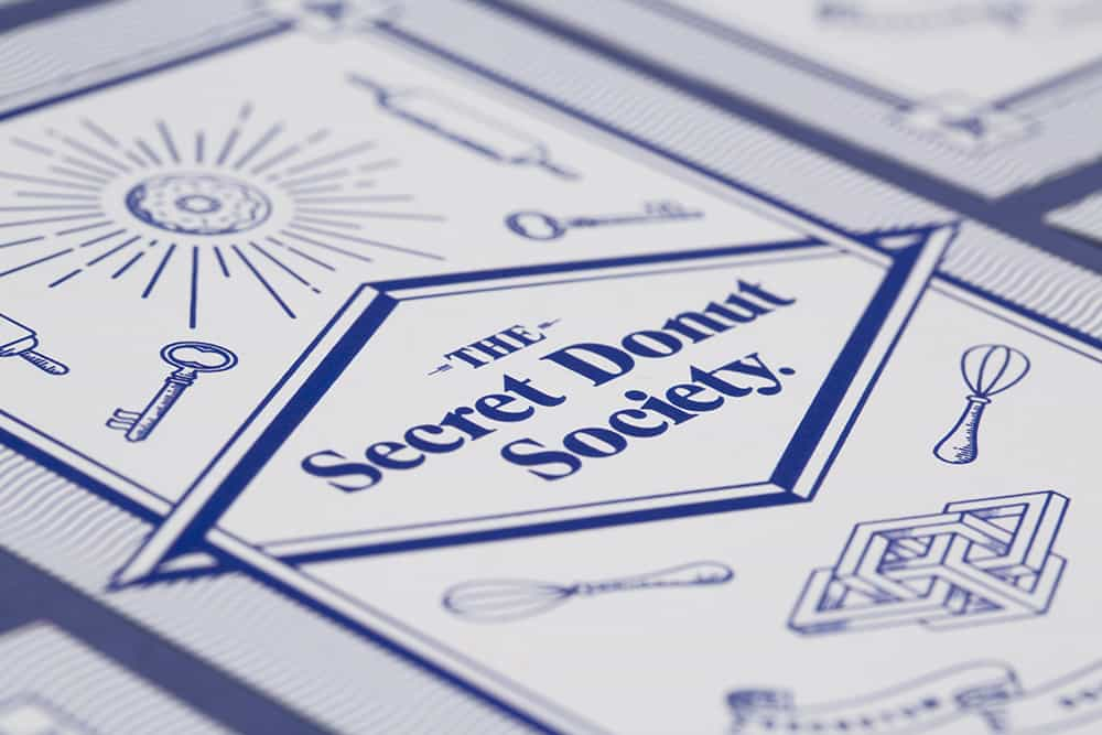 Featured Work: The Secret Donut Society