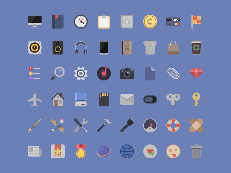 daily freebie icon set