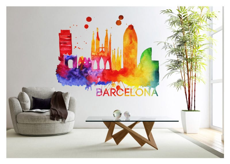 CLD Exclusive: Beautiful Watercolor Skylines of 13 Famous Cities (AI, EPS)