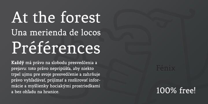 fenix-font