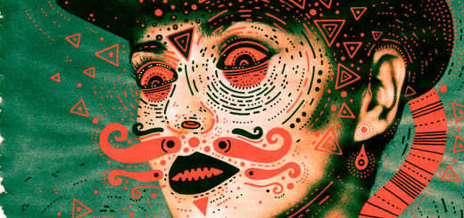 Featured Work: Scary but Brilliant Masks of Culture