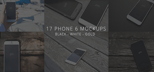 Daily Freebie: Huge List of 21 Photoshop Mockups