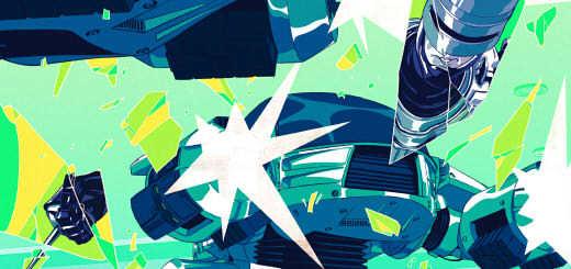 Featured Work: Impressive Robocop Cover Art