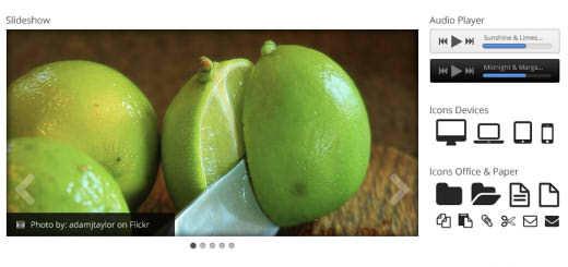 Daily Freebie: Slick 99Lime UI Kit for Photoshop