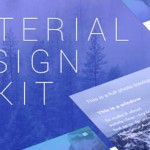 Daily Freebie: Flat Material Design UI Kit for CS6