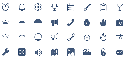 Daily Freebie: 440 Minimal Outlined Icons (AI, PNG, SVG, SKETCH)