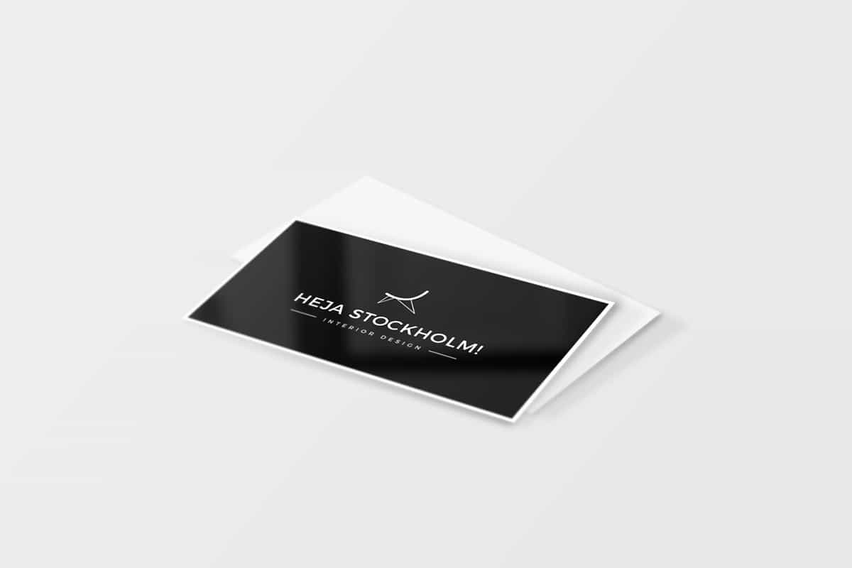 Freebie: 8 Free Clean Business Card Mockups (PSD)