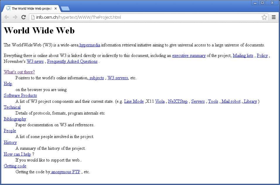 Web <a href=