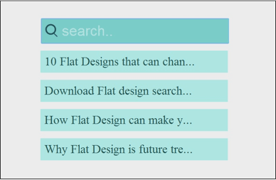 Best Collection of CSS3, jQuery & HTML5 Built Search Form Tutorials