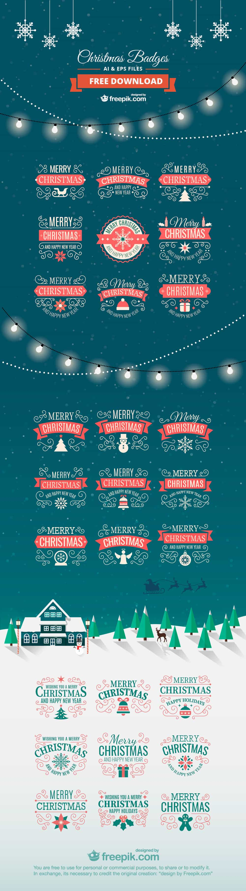 CLD Exclusive Freebie Christmas Labels