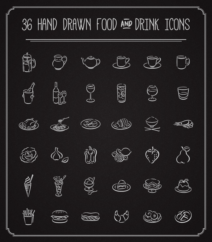 hand-drawn-food-and-drink-icons