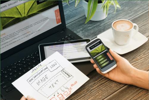 web design under budget