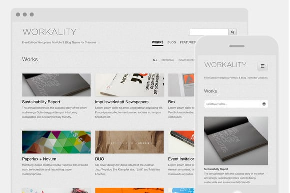 10 Freshest Portfolio Themes for 2016