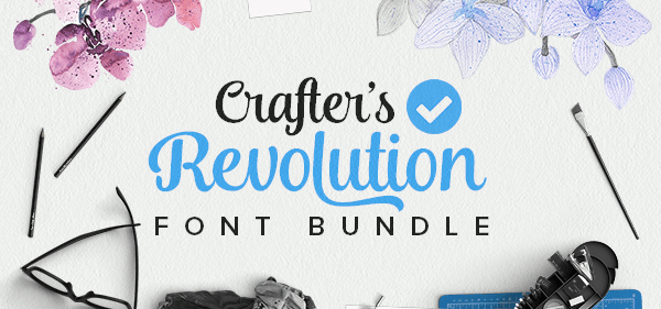 revolution font bundle