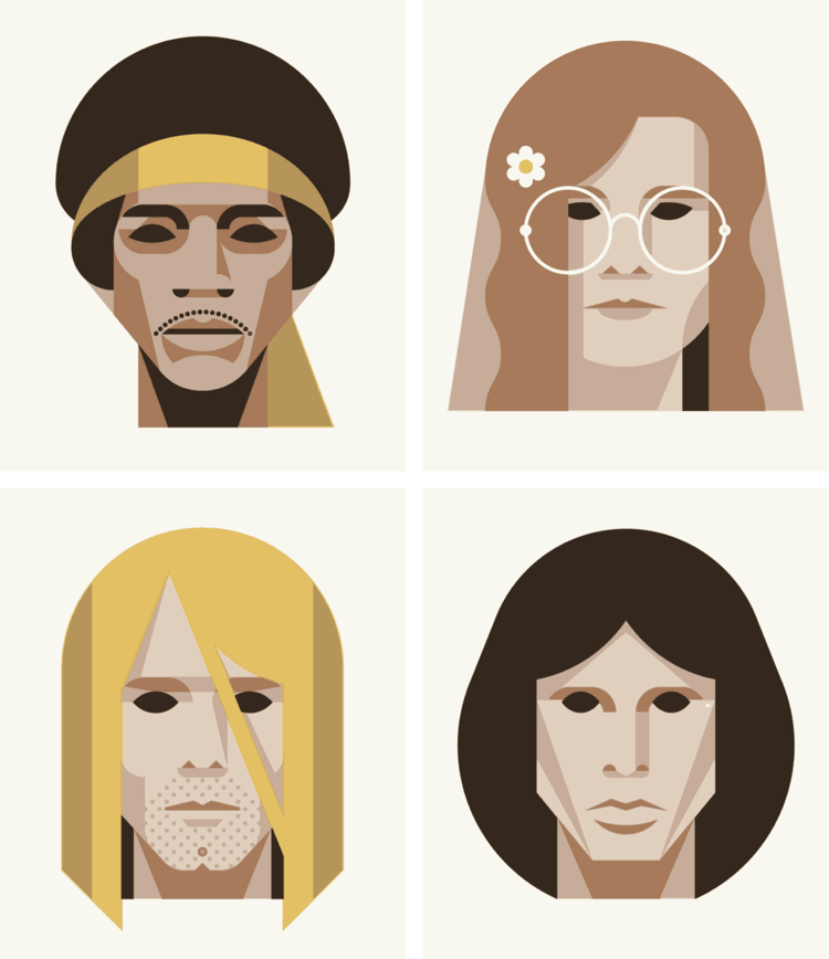 27 Club Illustration by DKNG