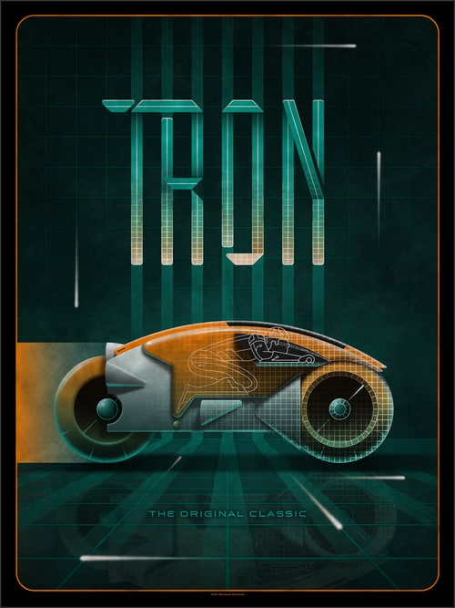 Tron Poster by DKNGO