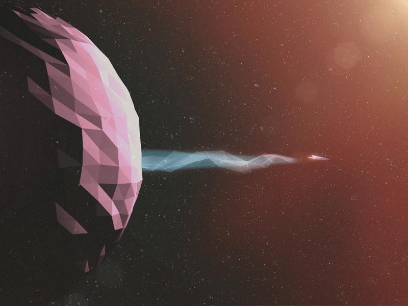 space flight illustration