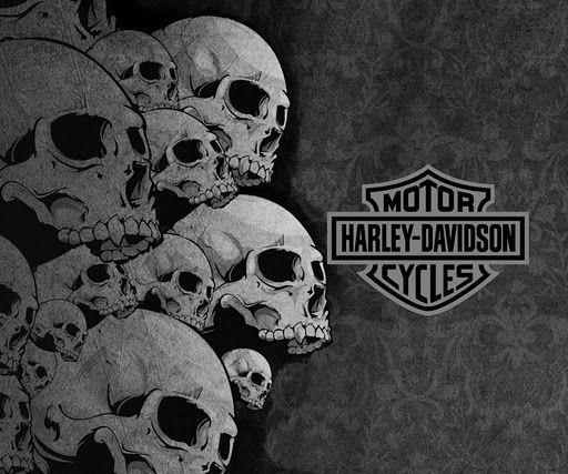 Harley Davidson Skull Logo History & Bonus Wallpaper