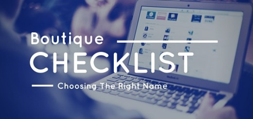 digital checklist for choosing a name