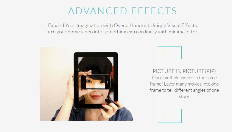 Filmora's Advanced Effect