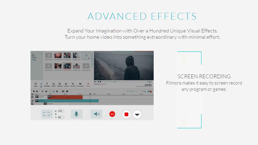 Filmora's Advanced Effects