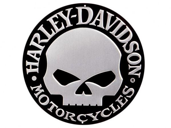 Harley davidson skull logo history bonus wallpaper round chrome harley davidson skull logo voltagebd Choice Image