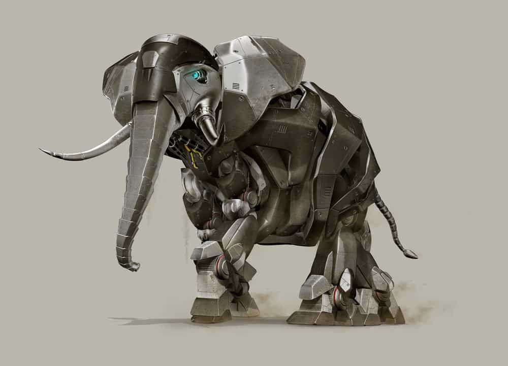 cgi mechanic elephant