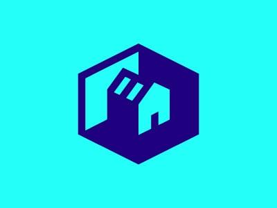 Cube house logo