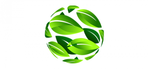 Globe leaf logo