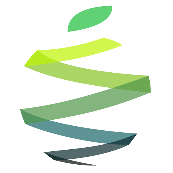 green-zigzag-apple