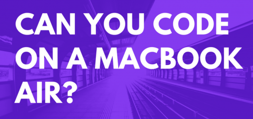 can you code on a macbook air