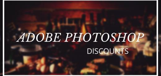 adobe phtoohshop discounts