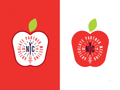 Apples with Reverse Colors