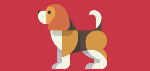 Red beagle logo