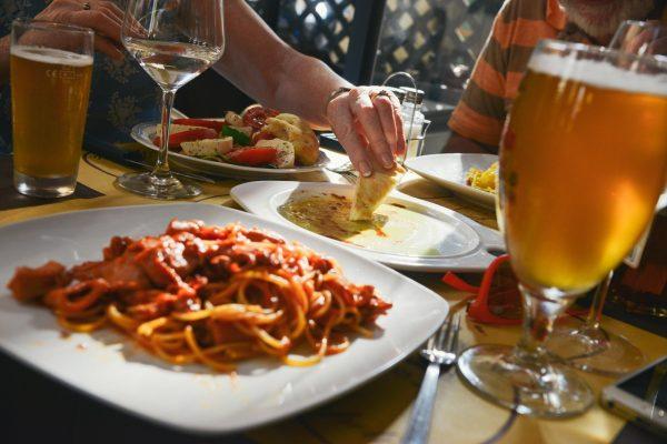 Pasta, noodels and beer