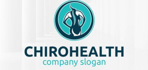Chiropractic health logo