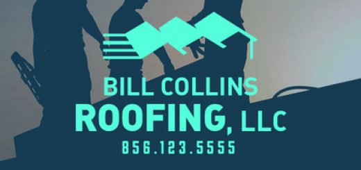 Three blue roofs logo