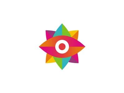 Colorful eye design