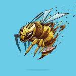 Angry Wasp logo