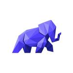 Purple elephant logo