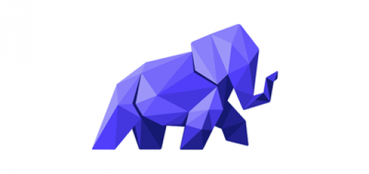 Purple elephant logo