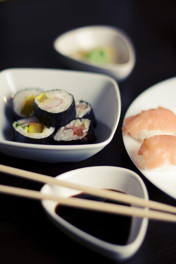 sushi, salomon and sause