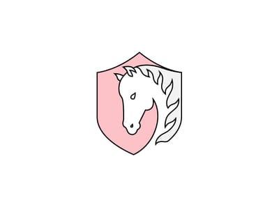 Horse crest design