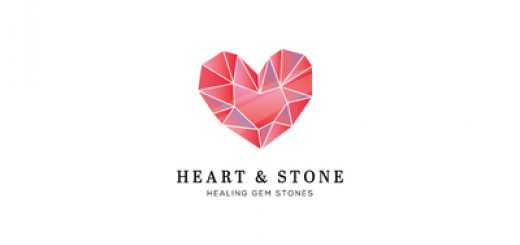 Heart and stone jewelry