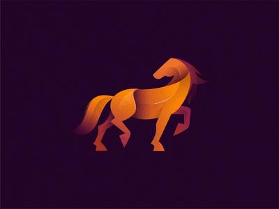 orange horse logo