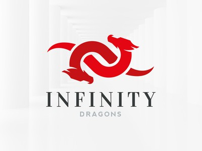 Infinity red dragons