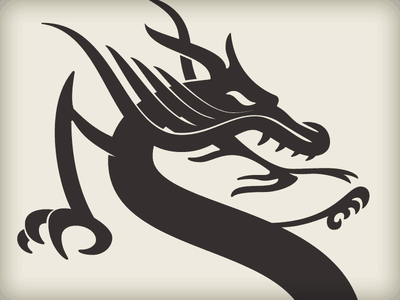 Skinny dragon design
