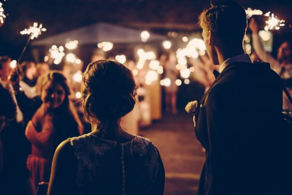 marriage in the evening