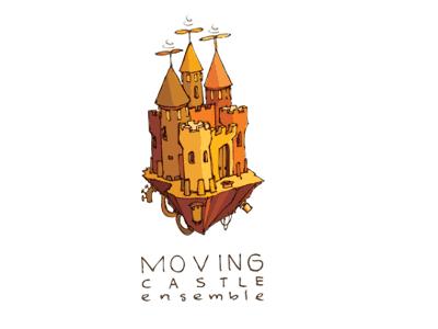 Castle on floating rock